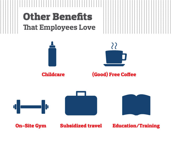 Other benefits that employees love