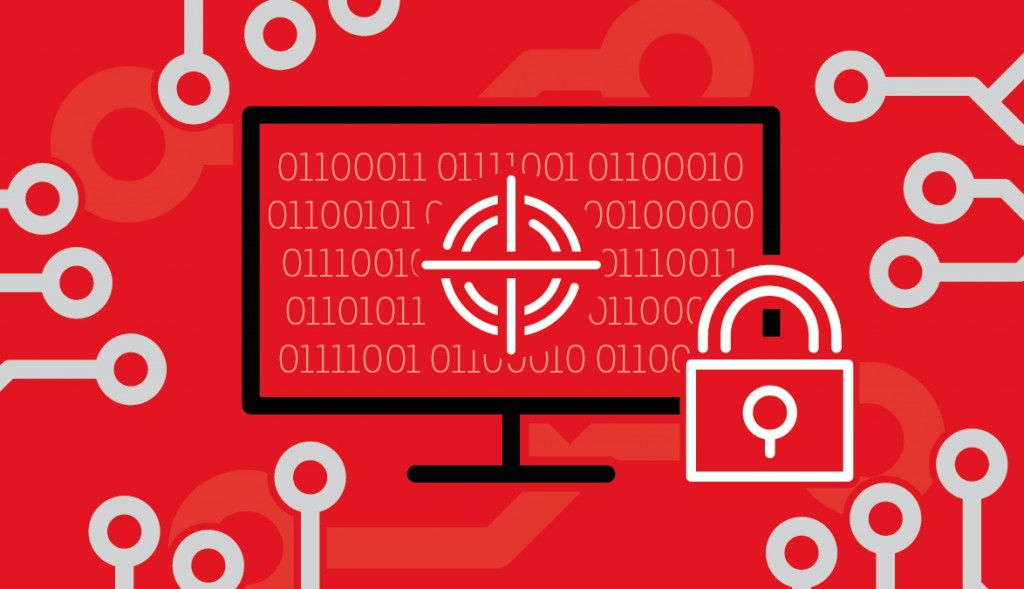 The One Brief cyber attack infographic header