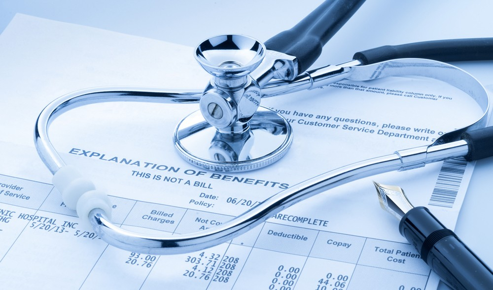 Stethoscope And Affordable Care Act Medical Insurance Form