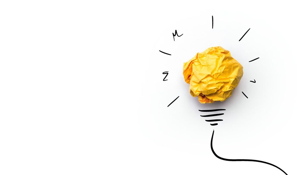 Lightbulb moment of innovation