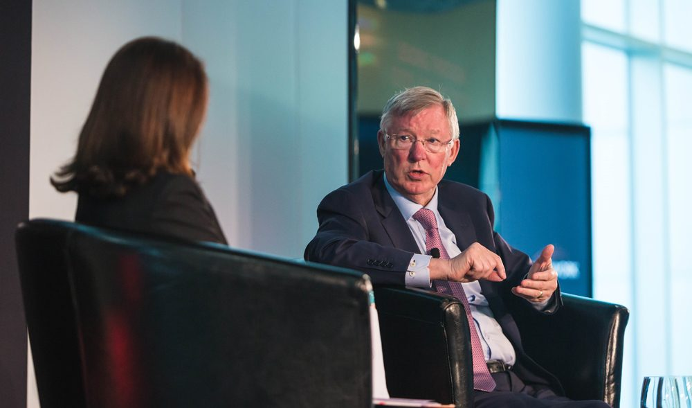 Sir Alex Ferguson talks about Strategic Leadership